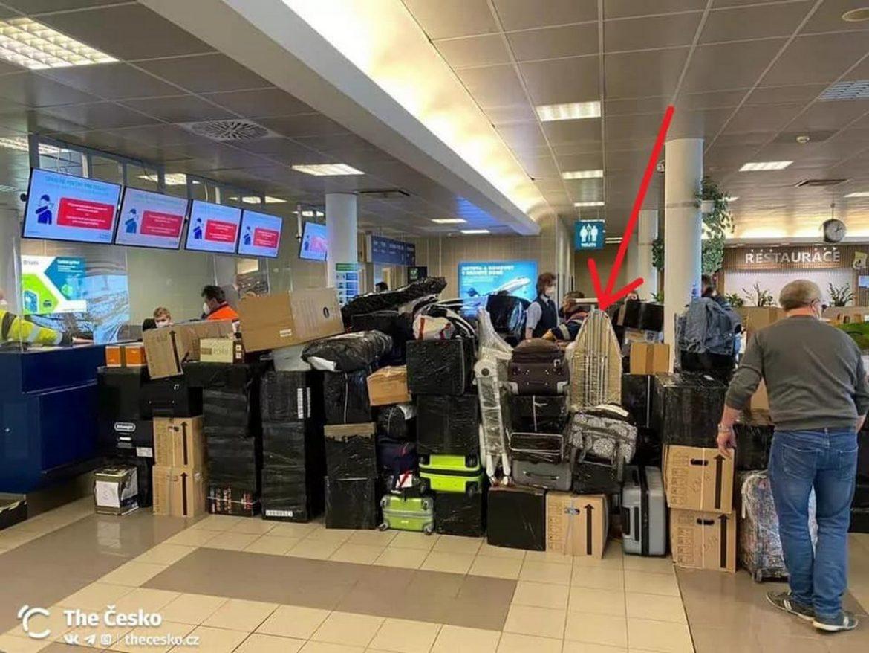Блогер помітив цікаву річ, яку, видворені з Чехії, російські дипломати прохопили з собою у Москву