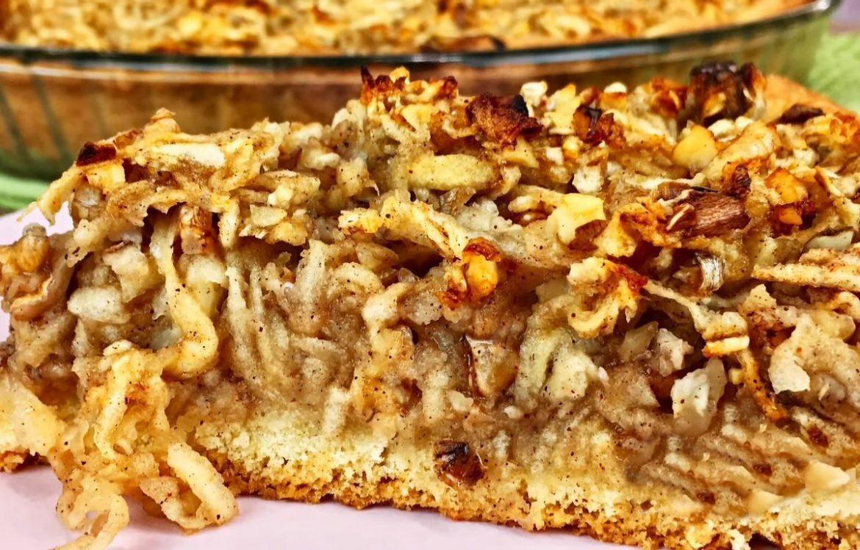 Ароматний горіховий пиріг з корицею — всіма забутий рецепт!