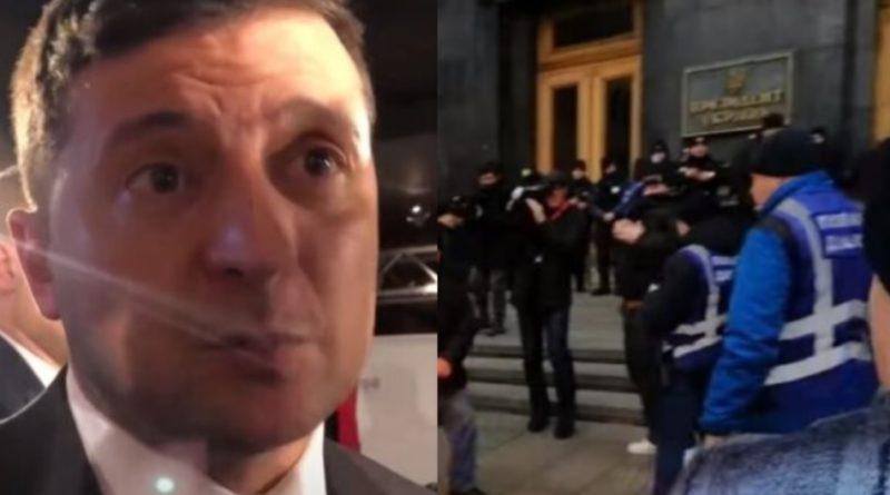 """Не добрий вечір Дня конституції: Під вікнами Зеленського відбувається немислиме – вийшли люди і висунули вимогу – """"у в'язницю"""""""